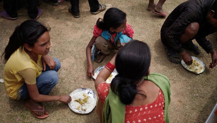 Nepalissa tarvitaan ruoka-apua vielä pitkään.