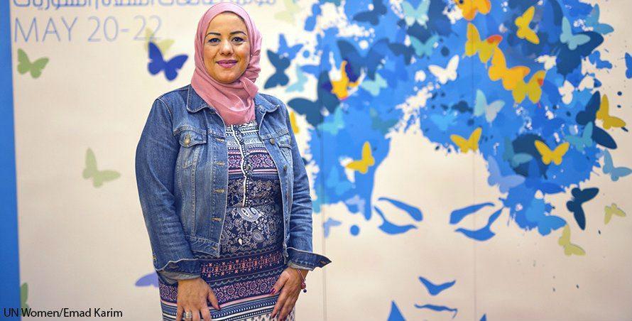 Lopettakaa talouspakotteet, on Marina El Hanashin viesti maailman johtajille.
