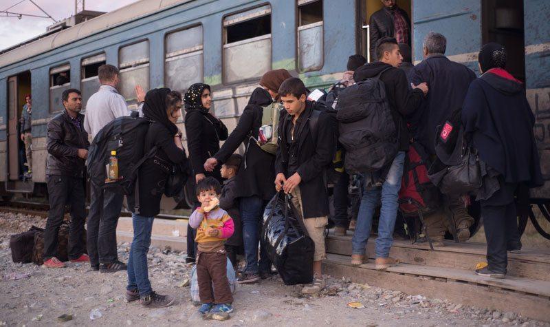 Turvapaikanhakijoita Euroopassa