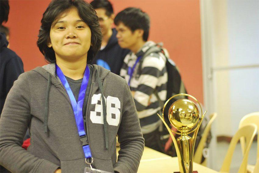 Kilpailun voittanut Clau Yagyagan osoitti, että vastoin ennakkoluuloja naiset osaavat koodata.