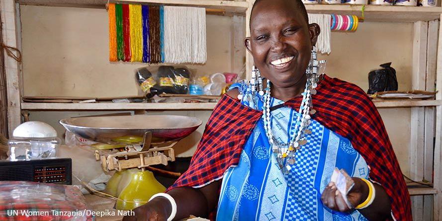 Maasai-naiset saavat oikeuden maahan ja toimeentuloon Tansaniassa.