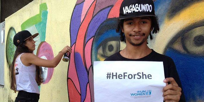 #HeForShe: Miljardi miestä toimimaan naisten oikeuksien puolesta