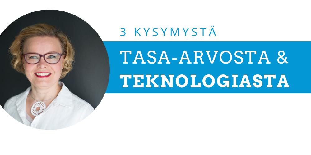Aivotutkija Minna Huotilainen: kaikki parhaat tarvitaan viemään teknologiaa eteenpäin