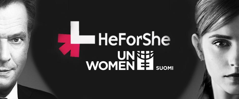 HeForShe-seminaari: Miesten rooli korvaamaton naisten oikeuksien tukena