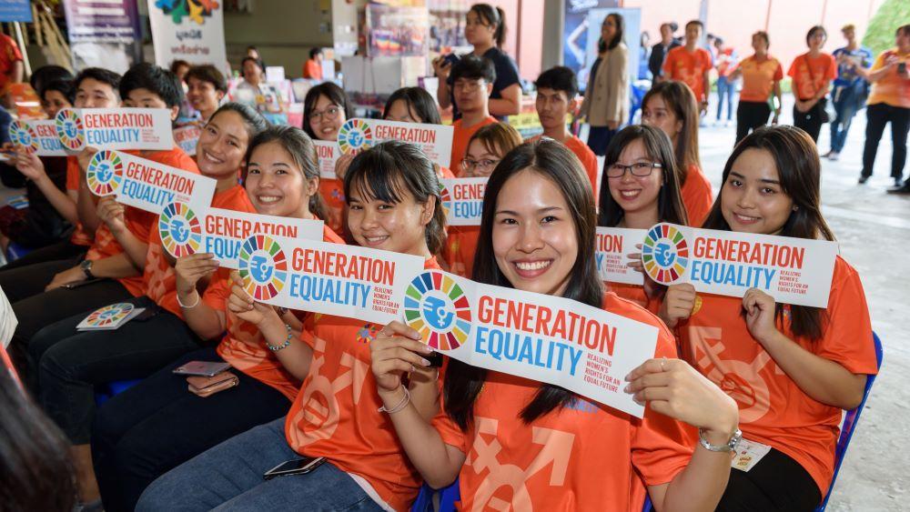 Tehdään meistä tasa-arvon sukupolvi! UN Womenin Generation Equality -kampanja huipentuu foorumeihin Mexico Cityssä ja Pariisissa