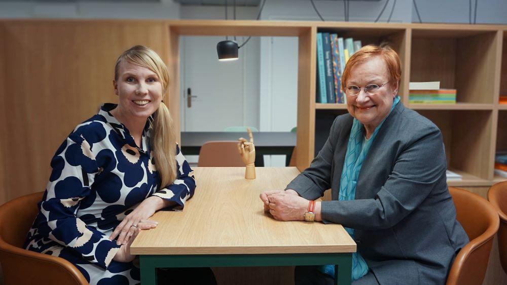 Presidentti Tarja Halonen käynnistää Suomen UN Womenin Generation Equality -podcastin